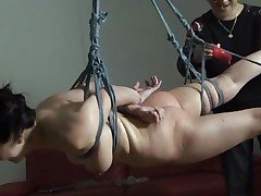 pretty and tied up that babe accepts her fate