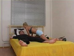 Blonde Russian Drilled And Fisted