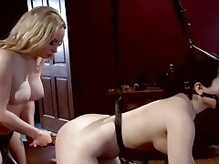 Domina Aiden Starr loves toying her partners ass