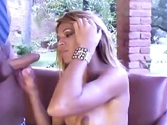 Sex crazed shemale fucked hard in the ass