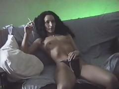 Slut jumping on missile