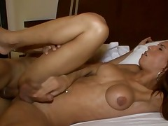 Hawt transsexual implements her wild anal dreams