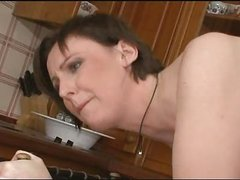 British Milf  Fucks Sons Ally