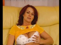 slutty hairy milf get 2 hard penis in ass DP troia takes hard penis in the ass all the way tits