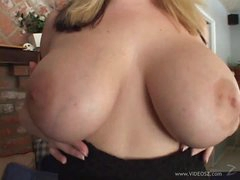 Darksome Cock For Big Breasted MILF Crystal Rose In Interracial Vid