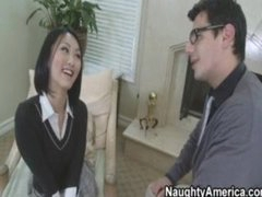 Sexy Asian School Fucks Her Teacher