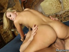 Excited juvenile girl Jessie Rogers with small tits and juicy ass fullfils each sex fantasy with hawt chap Bruce Venture. They really enjoy each others company. He drills her teen pussy hard after 69.