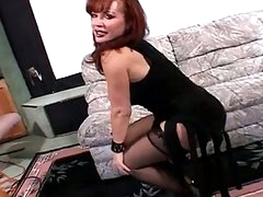 Hot redhead hooter prostitute pildriver fuck
