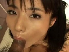 Hawt Asian cutie goes down on dude's 10-Pounder previous to getting slit drilled