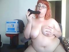 Hot BBW on cam
