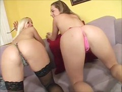 Threesome with mom and hot teen
