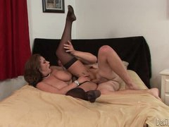 Wild Eva Notty loves getting her hot pussy hammered