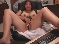 Latin peach fucked by toy