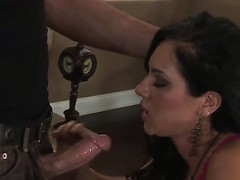 Brunette hair Camryn Kiss enjoys playing with a inflexible cock in one wild hardcore fuck scene