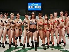 here's the female wrestling team