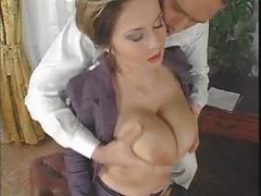 Chic Elegant Breasty Mature