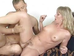 German blonde gets a valuable fuck - Inferno Productions