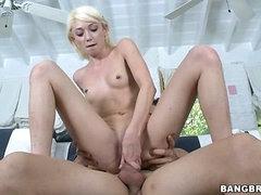 Clean Braces with Cum!