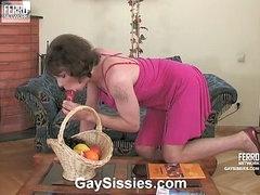 Randolph&Desmond kinky gay crossdresser video
