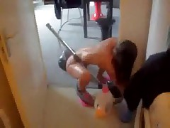 nude housework