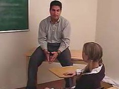 Hand Spanked Teen