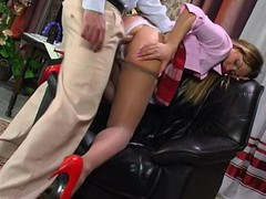 Maria&Monty awesome anal pantyhose movie scene