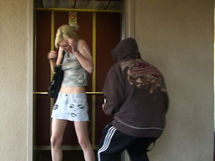 Smoking Golden-Haired Gets Creamed By Cum