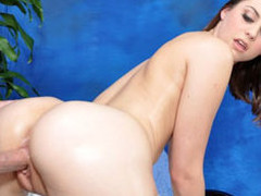 Brooke tempted and fucked hard by her massage therapist