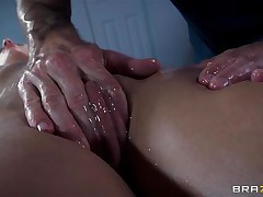 french babe oiled and ass screwed