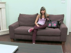 Rough doggystyle hammering for gorgeous sex kitten Liza
