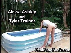 Alissa Ashley & Tyler Trainor Cute Lesbos