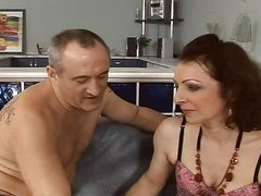 sexy and curly  mature fuck anal assfuck troia takes hard cock in the a-hole all the way tits