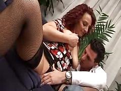 Italian Mom And Guy