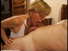 French Older Give Some Experience To Young Man